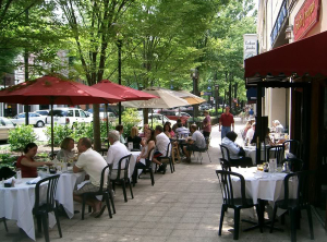 Commercial-T5-Greenville-SC-dining-frontage-VISA