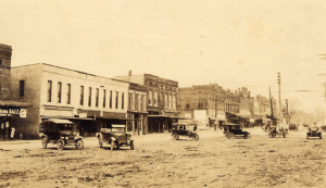 Greenville Main Street, ca. 1910 Credit: Furman University