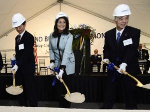 Leaders break ground on Toray plant in Spartanburg County, Credit: GoUpstate.com